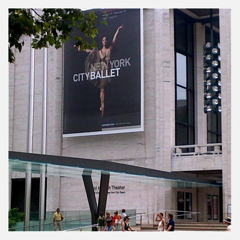 The Lincoln Center on 66th st.