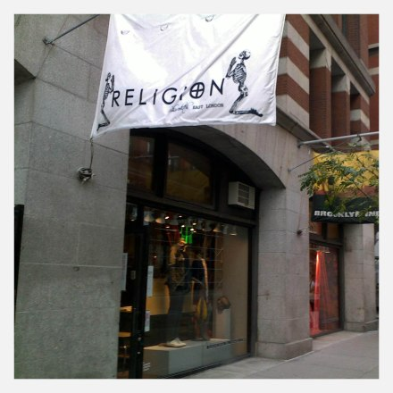 Religion East London, Lafayette st.