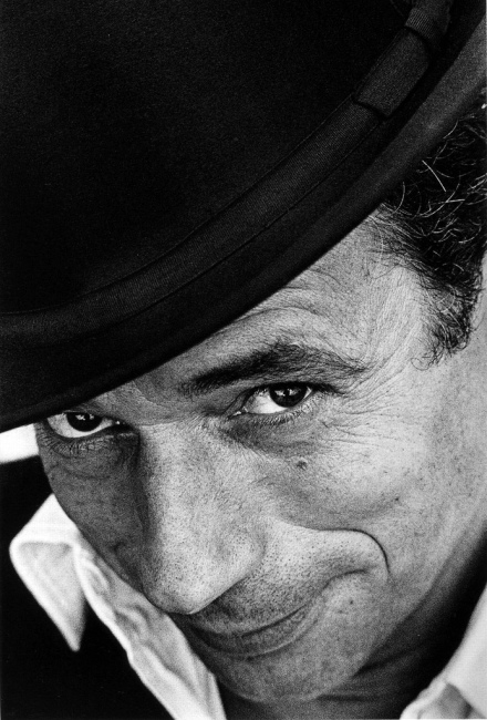 Yves Montand  by Jeanloup Sieff
